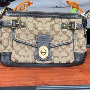 Coach NWOT Shoulder Bag Original Coach Pattern